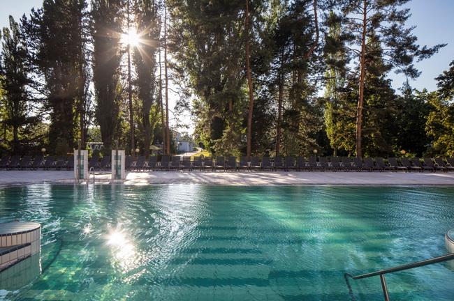 Ensana hermal Palace Spa szálloda Pöstyénben. Helyszín Info